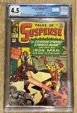 TALES OF SUSPENSE #52 (1959) CGC 4.5 MARVEL *1ST APPEARANCE BLACK WIDOW