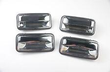 Chrome Outside Exterior Door Handle 4 Piece Set fits Chevrolet, Chevy, GMC