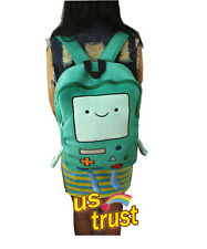 Adventure Time with Finn and Jake Beemo BMO Plush School Backpack Bag