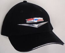 Hat Cap Chevrolet Chevy Bel Air Liquid Metal Black RK