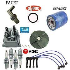 Tune Up Kit Cap Rotor Wires Spark Plug PCV for Honda Civic del Sol Si;1.6L 93-95