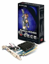 Sapphire RADEON HD 5450 Carte graphique Radeon HD 5450 PCI Express 2.0 x16 faibl