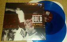 BOLD - The Search: 1985 - 1989  2 x LP (BLUE WAX) SEALED SXE NYHC JUDGE GB BURN