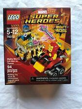 IRON MAN vs THANOS Mighty Micros Marvel Super Heroes Lego Set #76072 94pcs 2017