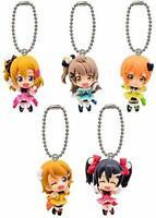 BANDAI Love Live! Swing 5 Gashapon 5set mascot capsule toys Figures Complete set