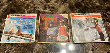 LOT of (3) VINTAGE GAF VIEW-MASTER REELS_Batman  Land Of The Lost & Scooby Doo