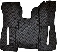 SCANIA R 05-09 FLOOR SET LEATHERETTE IN BLACK [TRUCK PARTS & ACCESSORIES]