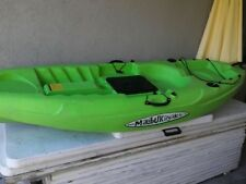 "Malibu Ocean Kayak with radar locator 112"" long x 32"" wide Rugged plastic"