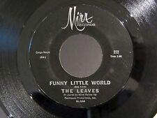 Garage 45 THE LEAVES Funny Little World / Hey Joe MIRA 222
