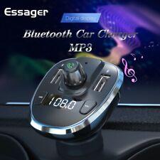 Bluetooth Dual USB Car Phone Charger FM Transmitter MP3 Player Car Kit