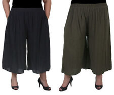 Rayon Casual Plus Size Pants for Women