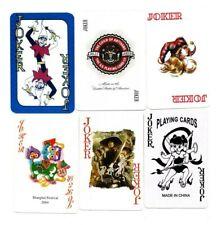 "6 x RARE MINT ""Superb"" JOKER Playing Cards #158"