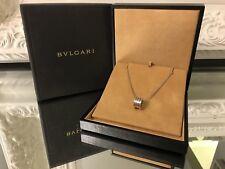 Authentic Bvlgari B.Zero 1 Pendant Necklace 18K White Gold *MINT CONDITION