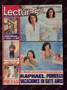 REVISTA LECTURAS 1268 - RAPHAEL-DYANGO-MARISOL-NADIA COMANECI-LOS GOLFOS 1976