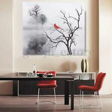 Red Bird Modern Canvas Painting Print Picture Home Wall Art Decor  Unframe New