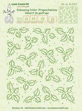 Leane Creatief Carpeta de Grabación en Relieve Hojas De Fondo 35.2557