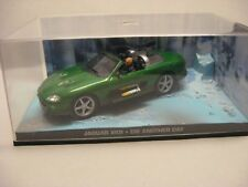James Bond COLLECTION - JAGUAR XKR DIE ANOTHER DAY -  in Vitrinenbox