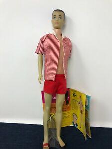 Vintage Mattel VERY RARE HTF GHOSTLY WHITE Ken Doll COMPLETE