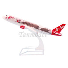 16cm alloy plane model Malaysia Air Asia A320 9M-AQH 100th awesome plane