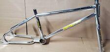 "Old Bmx 85 Mongoose Cali Frame Fork 20"" Cr/mo Frame Fork Rad Race Bike"