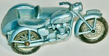 Matchbox #4-C Triumph Motorcycle & Sidecar Made In England By Lesney 1960
