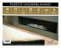 FLEECE UNDER BLANKET MATTRESS PROTECTOR LUXURY FITTED BED MATRESS PILLOW COVER