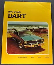 1976 Dodge Dart Brochure Folder Sport Swinger Excellent Original 76 Canadian