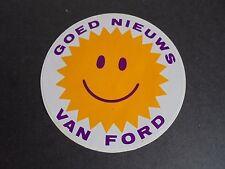 Sticker autocollant : Goed nieuws van Ford