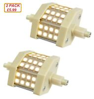 R7s J78 SMD LED Flood Light Bulbs Replacement for Halogen Linear Tubes 78mm WW