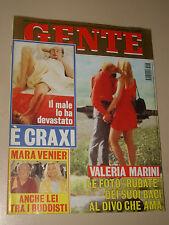 GENTE 1996/23=STEFANO DIONISI=MARA VENIER=SILVIA URSO=CRAXI=ANDREA PEZZONI=