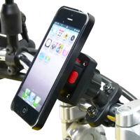 TiGRA MountCase & Metal Bike Motorcycle Handlebar Mount for iPhone SE