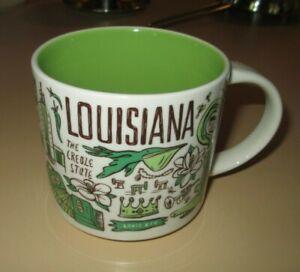 Starbucks Been There Series  Louisiana Collectible 14oz Mug. NO BOX