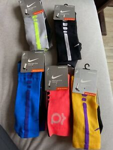 Nike Men's Hyper Elite Basketball Socks Cushioned Soften The Impact Crew SX4801