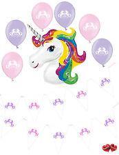 Ultimate rotolo da unicorno Happy Birthday Bandierine Banner 6 Latex 1