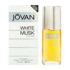 JOVAN WHITE MUSK * Coty 3.0 oz / 88 ml Eau De Cologne (EDC) Men Cologne Spray