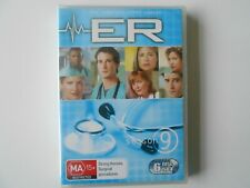 ER The Complete Season 9 - DVD 6 Disc Set - region 4 - ** New and Sealed **