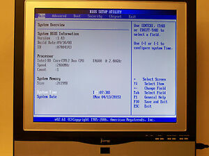"""CYBERNET iOne-GX31 17"""" ALL IN ONE SYSTEM W/ CORE 2 DUO 2.4 GHz 2GB"""