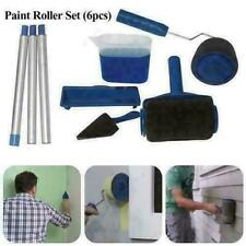 6Pc/Set Paint Runner Pro Paint Roller With Tank Paint Roller Flat Brush Decor US
