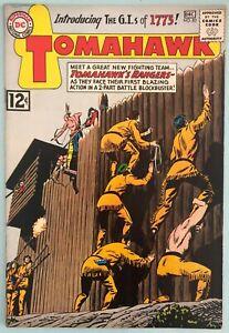 Tomahawk #83 VF 1962 DC Comic Book Silver Age Western