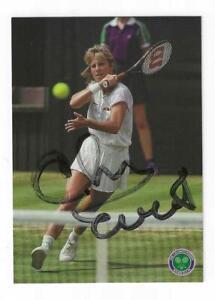 Chris Evert Signed Postcard Photo / Autographed Tennis
