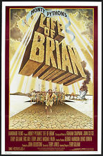 LIFE OF BRIAN withdrawn style poster MONTY PYTHON original 1979 one sheet 27x41