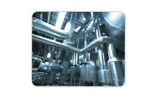 Industrial Boiler Room Mouse Mat Pad - Power Engineer Mens Computer Gift #16443