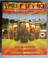 ♫ - VOICES OF LATIN ROCK - JIM McCARTHY & RON SANSOE - LIVRE NEUF NEW NEU - ♫