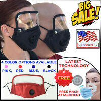 MASK WITH EYE SHIELD - SPORTS GYM  RUNNING WORKING: RESTURANT CAFE BAR OFFICE
