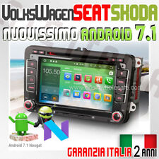 "AUTORADIO 7"" ANDROID 7.1 VW GOLF 5 6 GTI,NewBeetle,Passat,Tiguan,Touran,Sciro..."