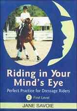 Riding in Your Mind's Eye Part 2 by Jane Savoie - Dressage Training DVD NEW