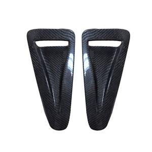 Carbon Fiber Exterior Hood Vent Scoop Kit Fit for Nissan R35 GTR 2008-2015 new