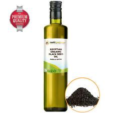 Egyptian Pure UK Certified Organic Black Seed Oil Glass Bottle Nigella Sativa
