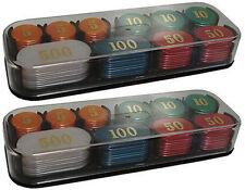 Más sets de fichas de casino
