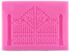 Ornate Gate Silicone Mold For chocolate, gum paste, fondant, crafts